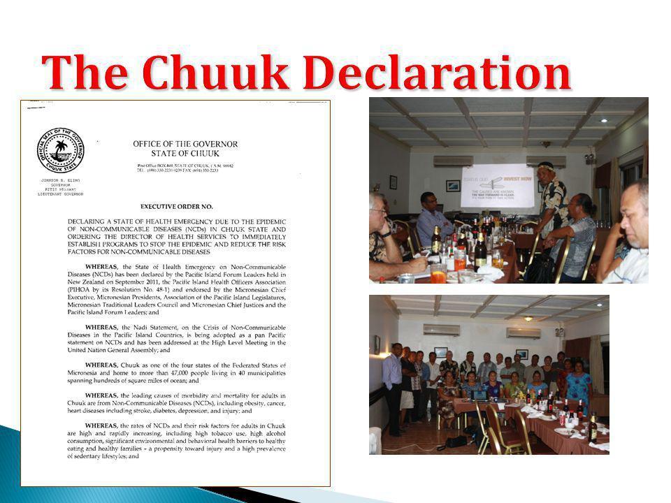 The Chuuk Declaration