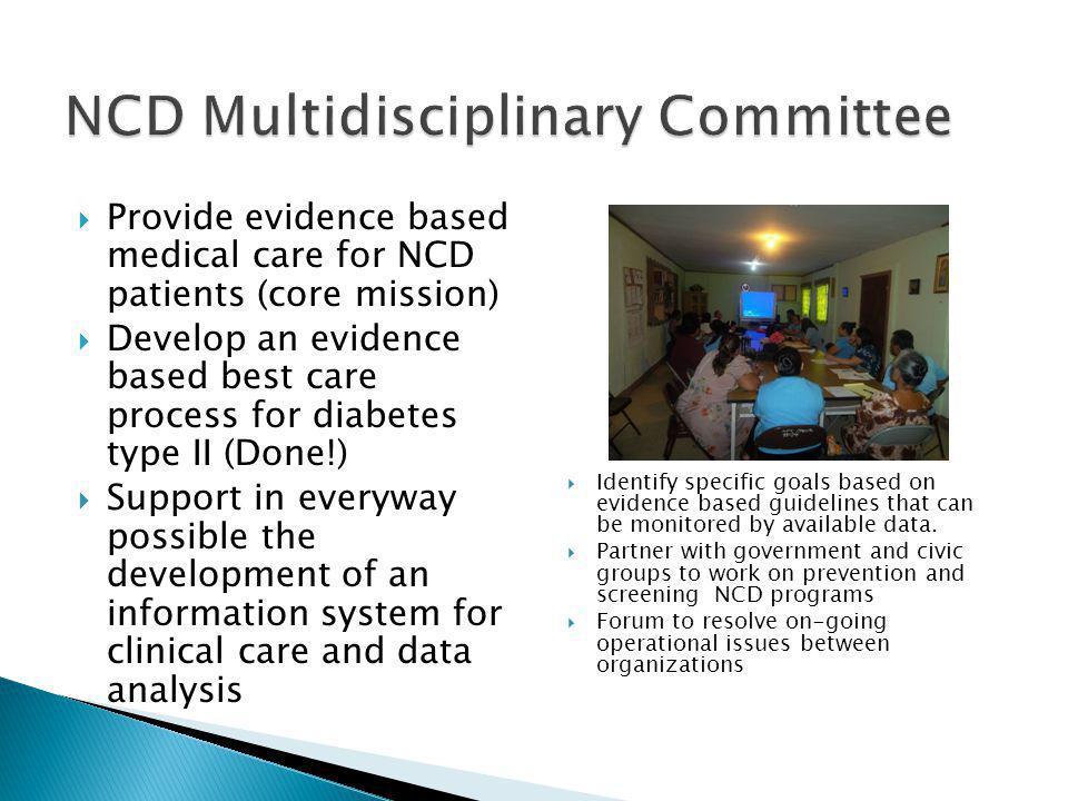 NCD Multidisciplinary Committee