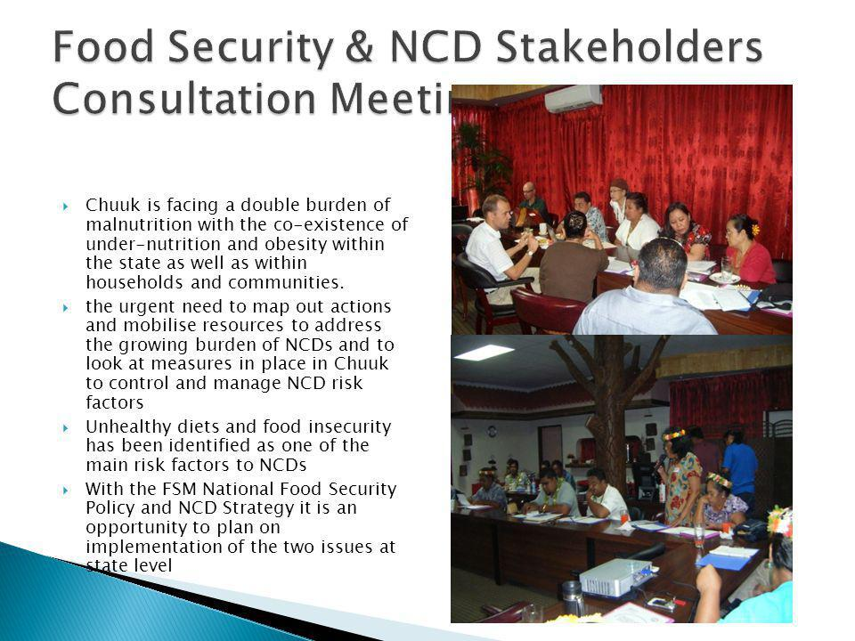 Food Security & NCD Stakeholders Consultation Meeting