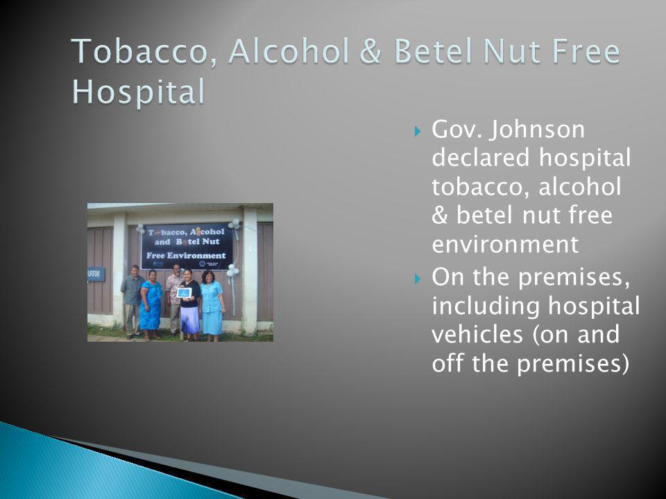 Tobacco, Alcohol & Betel Nut Free Hospital