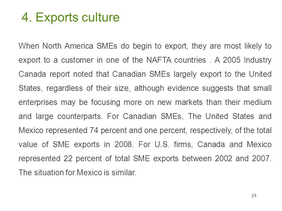 4. Exports culture