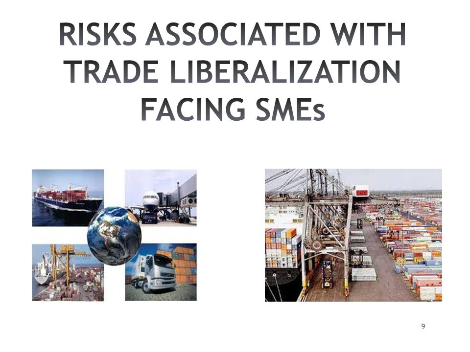 RISKS ASSOCIATED WITH TRADE LIBERALIZATION FACING SMEs