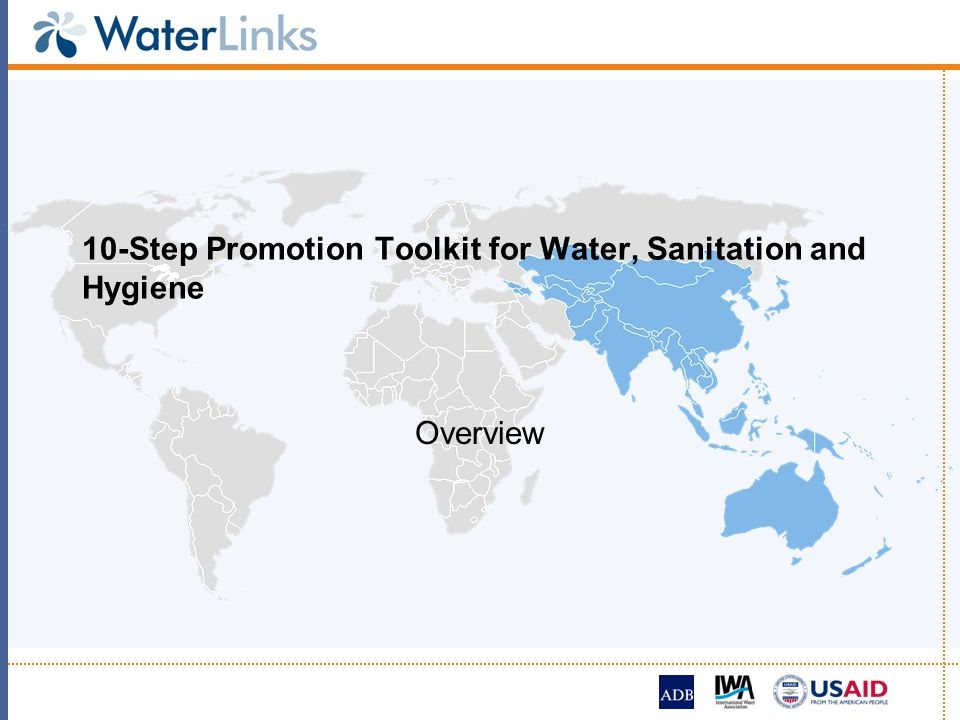 10-Step Promotion Toolkit for Water, Sanitation and Hygiene