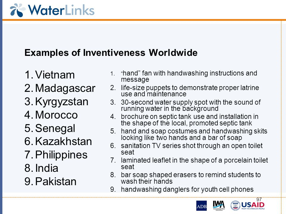 Examples of Inventiveness Worldwide