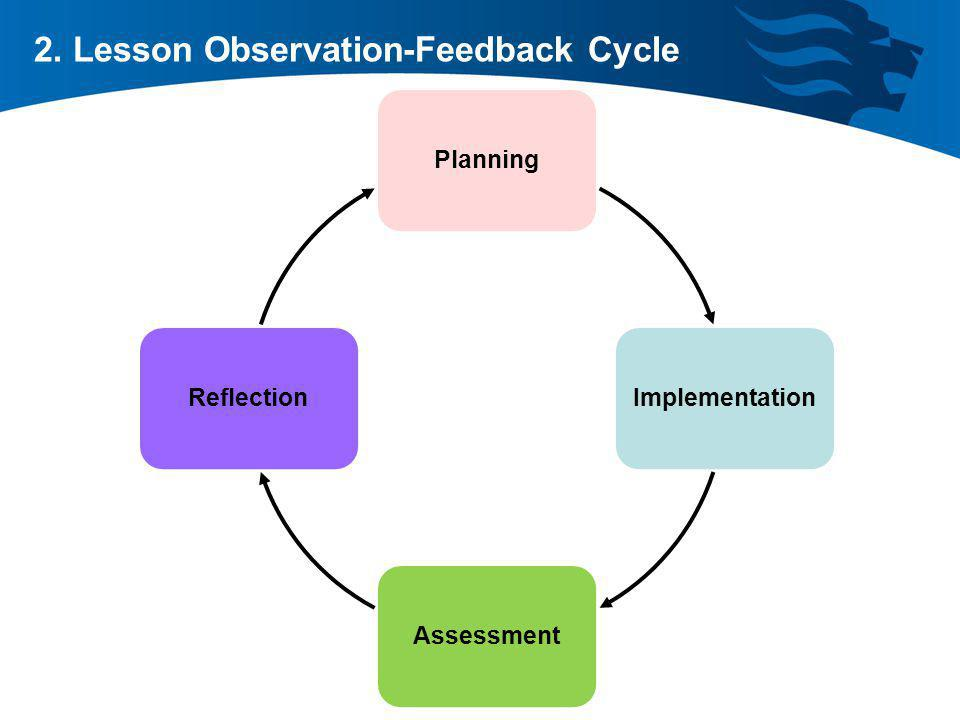 2. Lesson Observation-Feedback Cycle