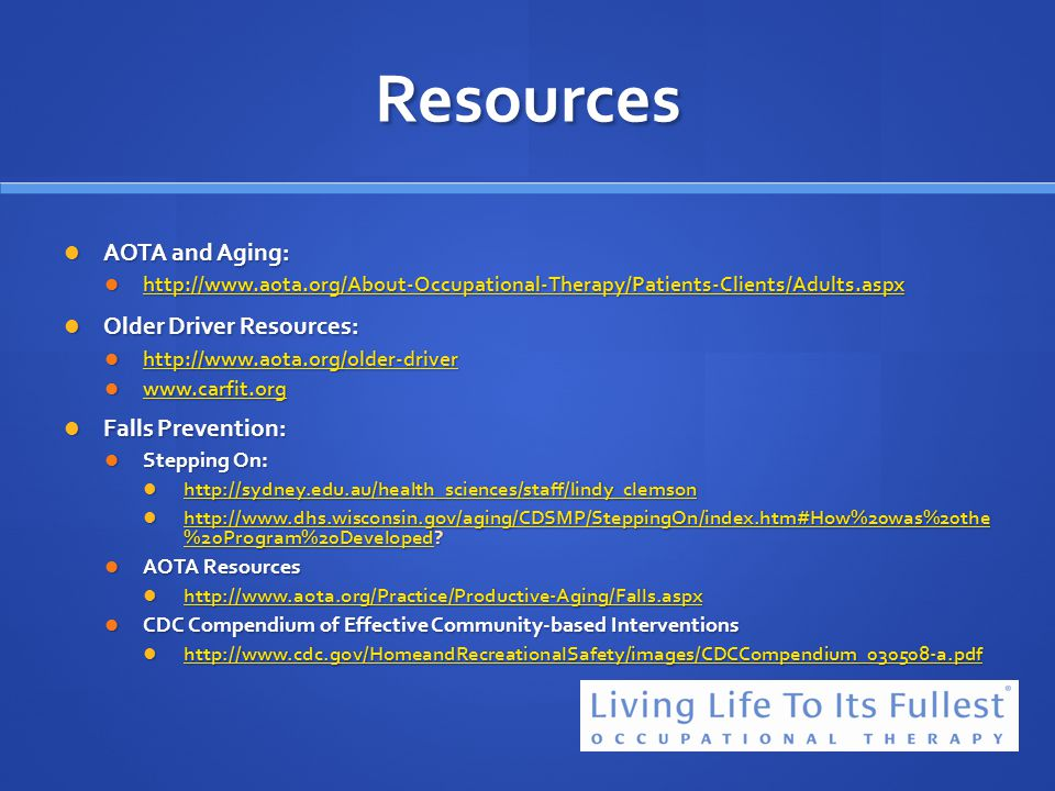 29 Resources ...