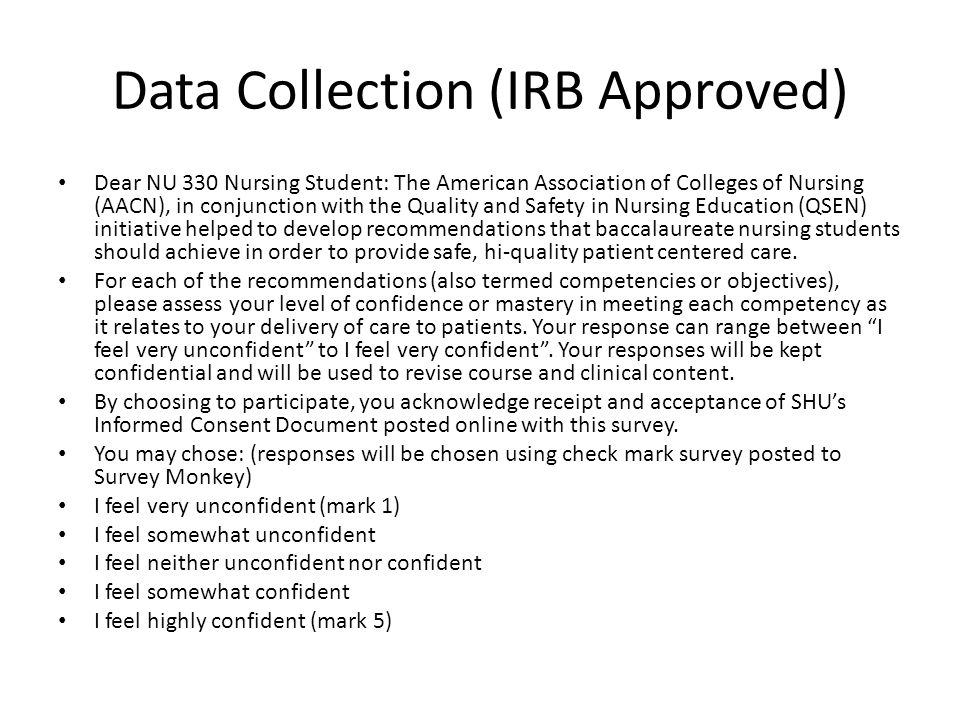 Data Collection (IRB Approved)