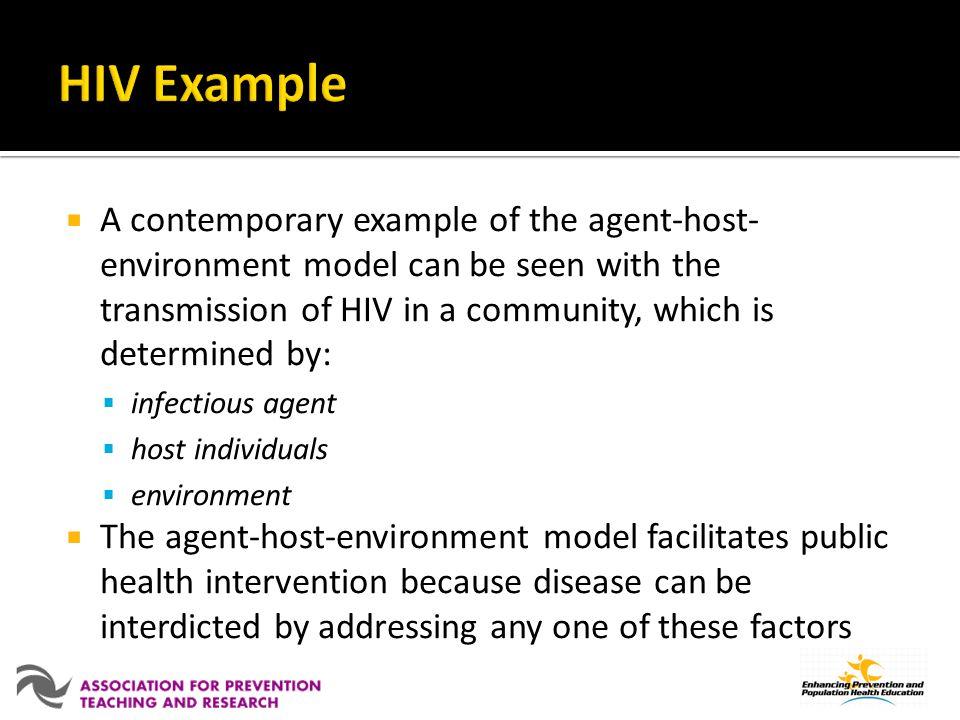 HIV Example