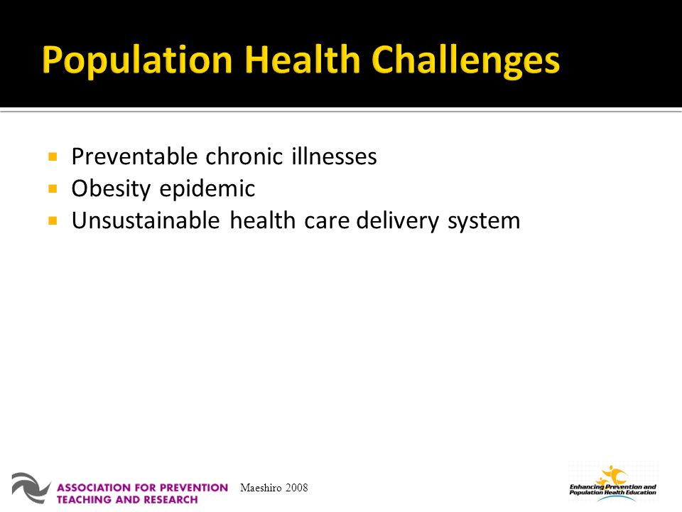 Population Health Challenges