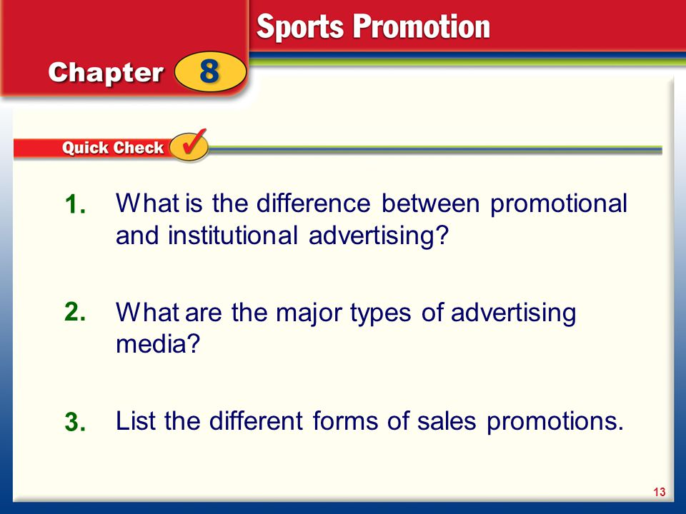 What are the major types of advertising media