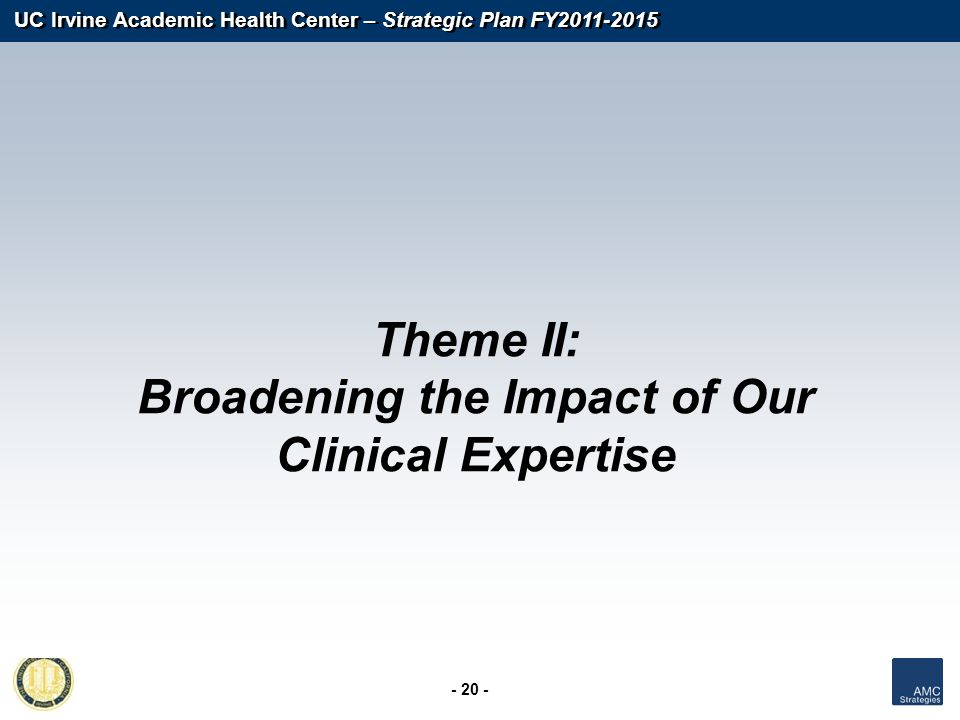 Broadening the Impact of Our Clinical Expertise