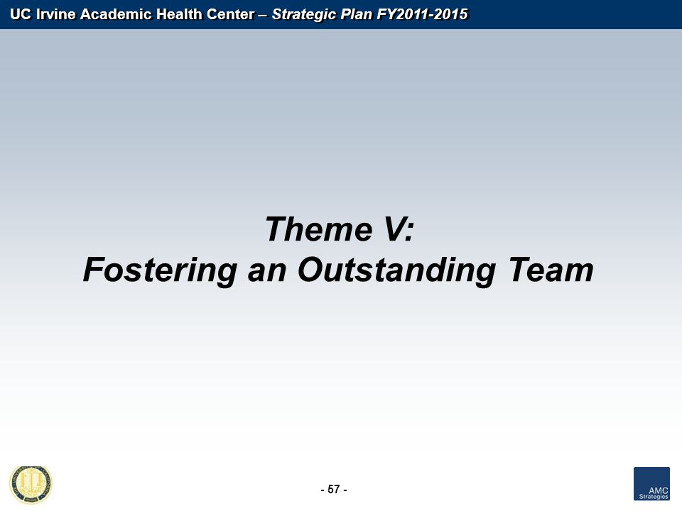 Fostering an Outstanding Team