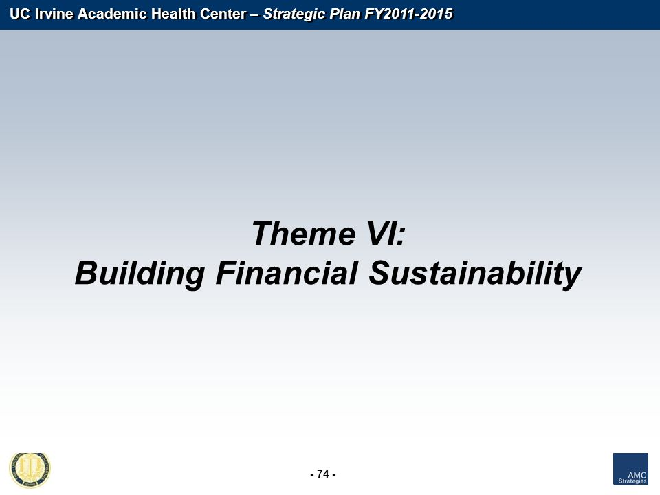 Building Financial Sustainability