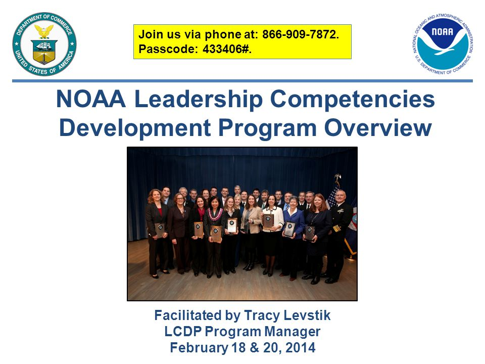 NOAA Leadership Competencies Development Program Overview
