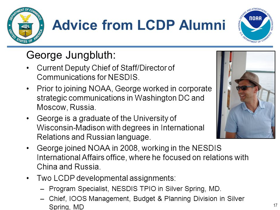 Advice from LCDP Alumni