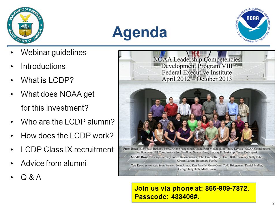 Agenda Webinar guidelines Introductions What is LCDP