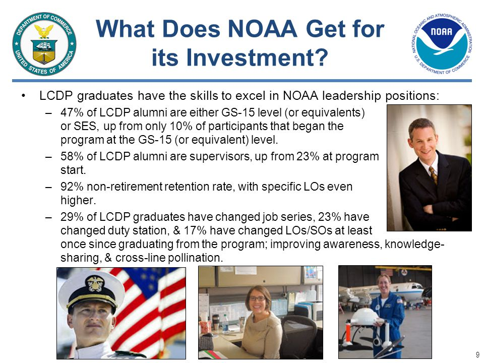 What Does NOAA Get for its Investment