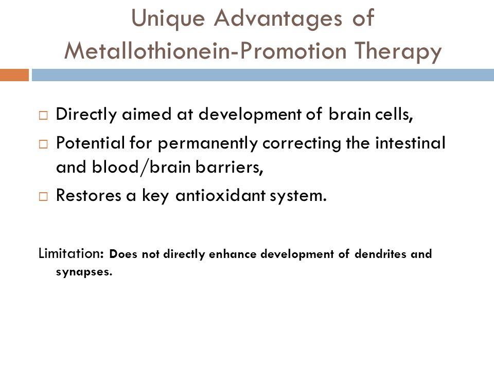 Unique Advantages of Metallothionein-Promotion Therapy