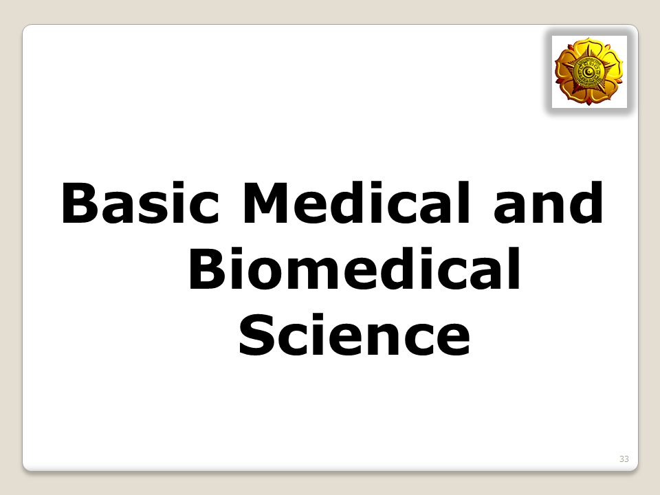 Basic Medical and Biomedical Science