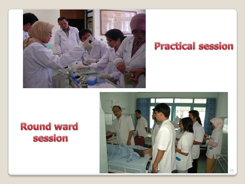 Practical session Round ward session