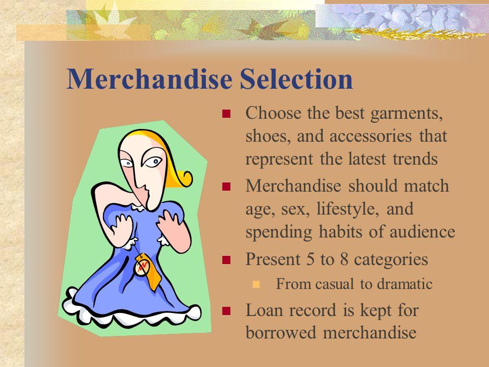 Merchandise Selection