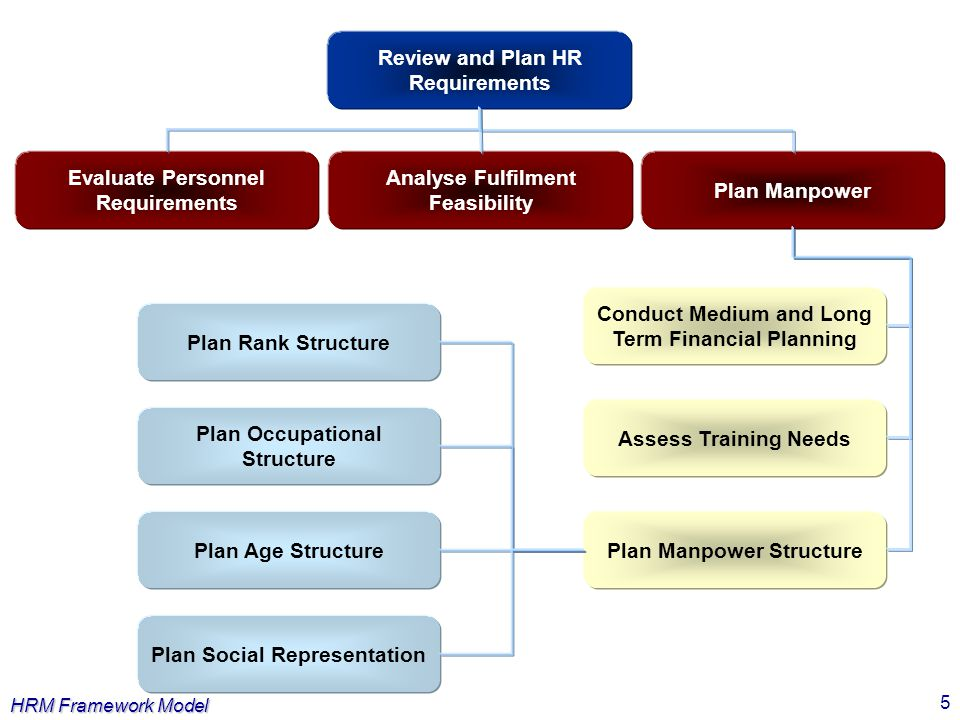 Review and Plan HR Requirements