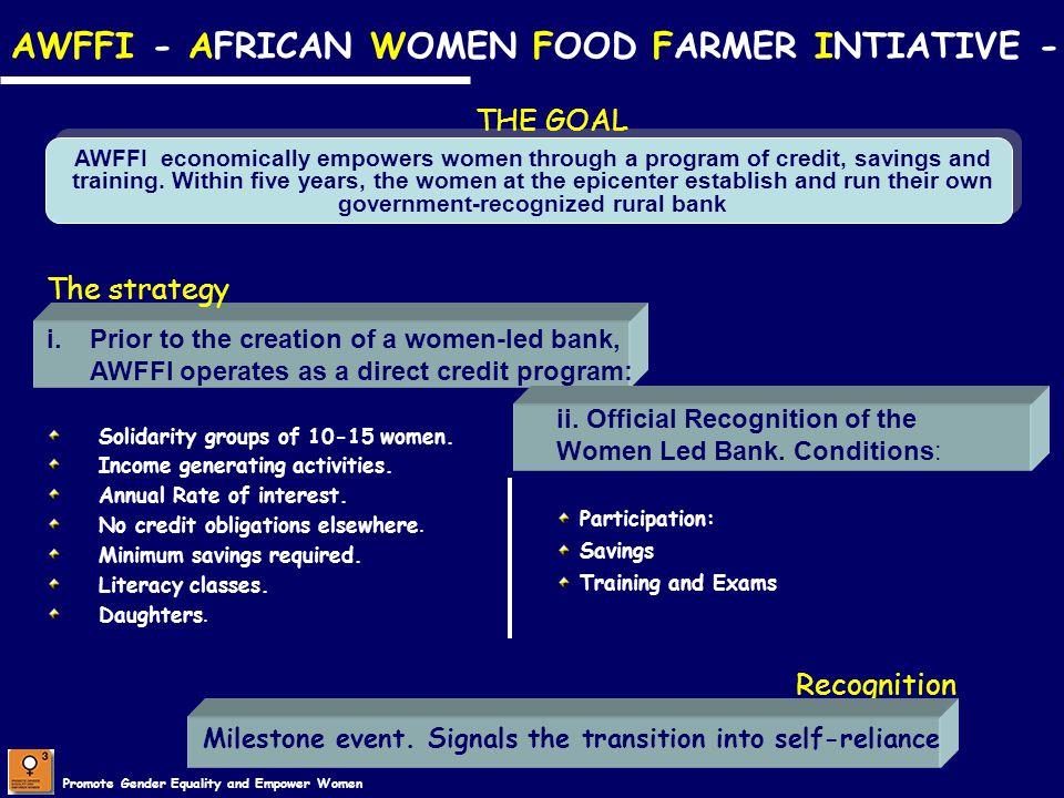 AWFFI - AFRICAN WOMEN FOOD FARMER INTIATIVE -