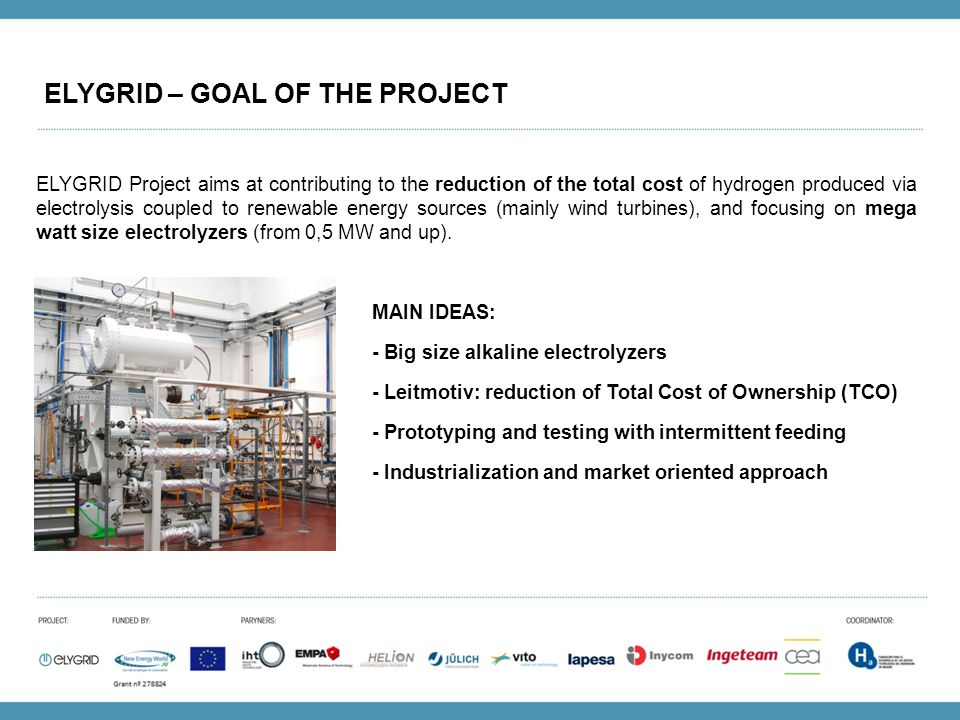 ELYGRID – GOAL OF THE PROJECT