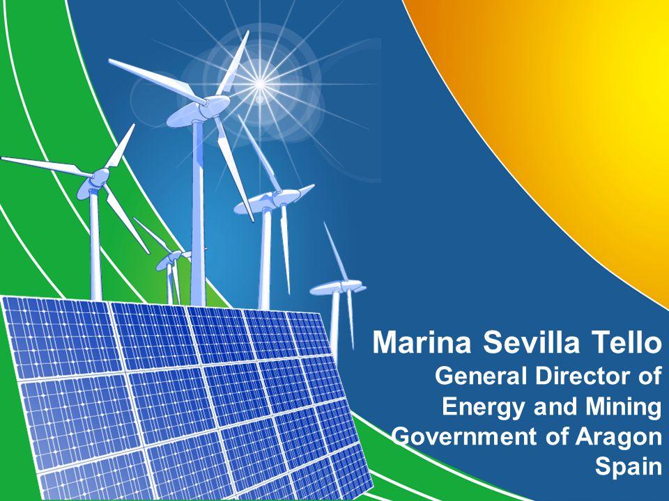 Marina Sevilla Tello General Director of Energy and Mining