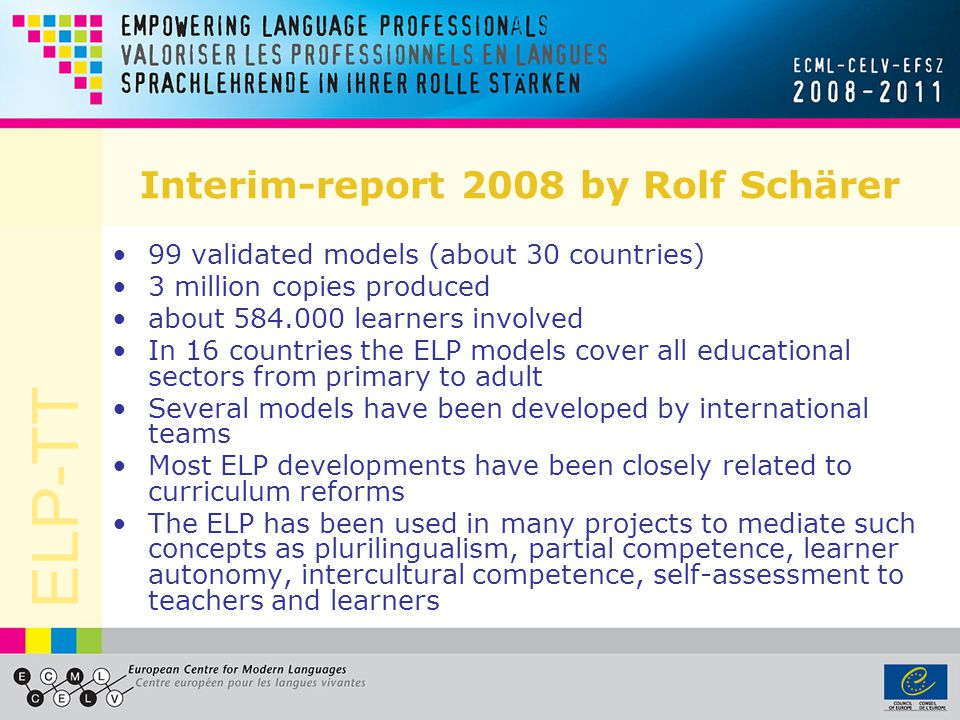 Interim-report 2008 by Rolf Schärer