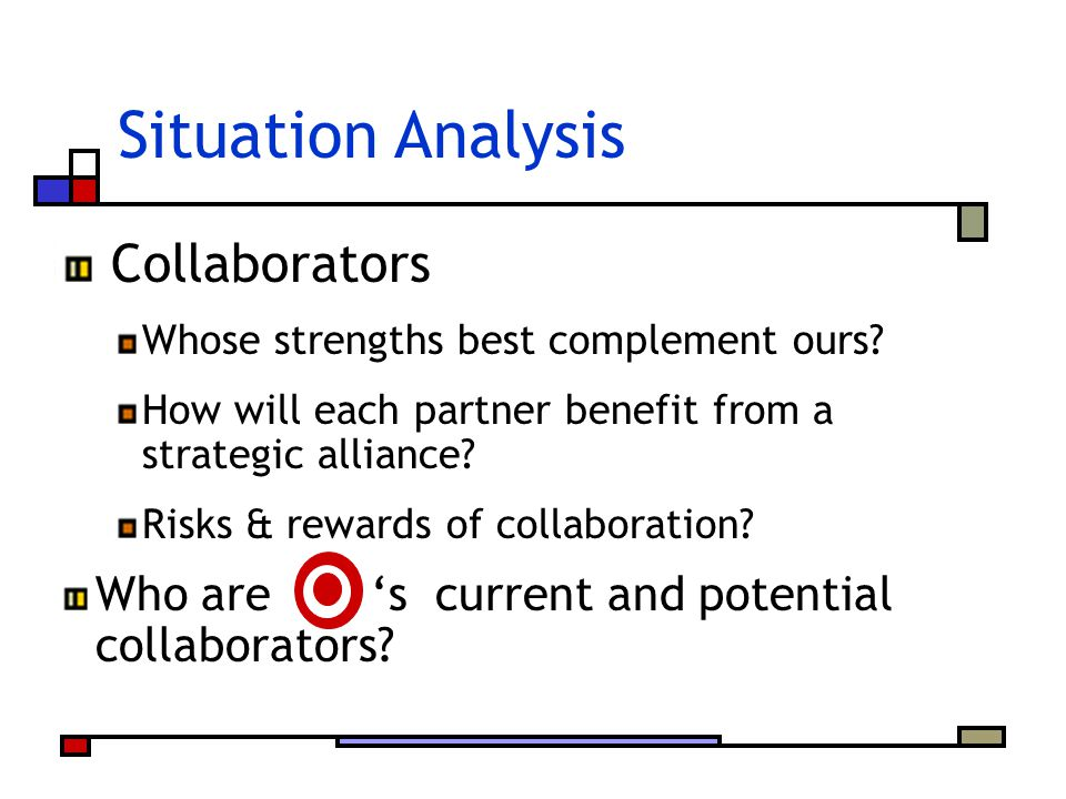 Situation Analysis Collaborators
