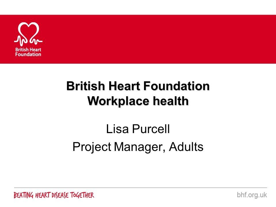 British Heart Foundation Workplace health