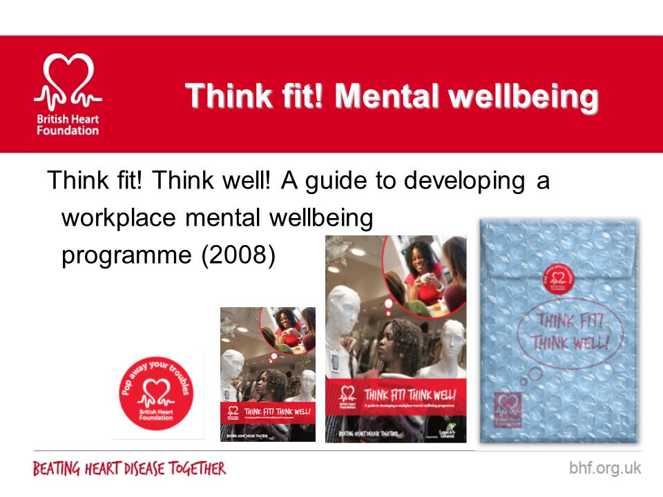 Think fit! Mental wellbeing