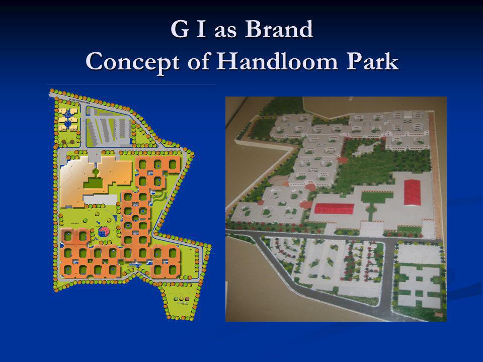 G I as Brand Concept of Handloom Park