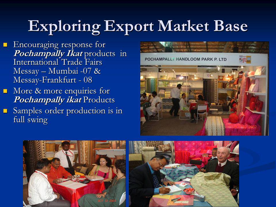 Exploring Export Market Base