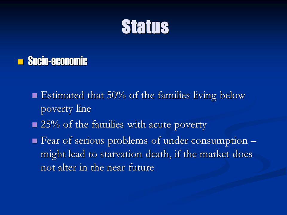 Status Socio-economic