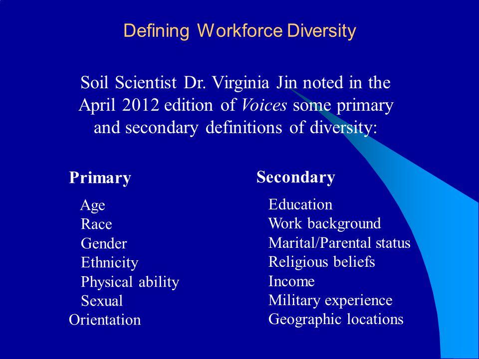 Defining Workforce Diversity