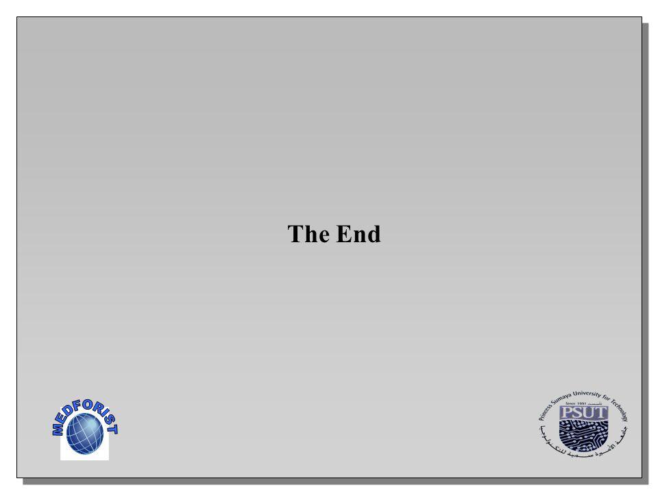 The End MEDFORIST
