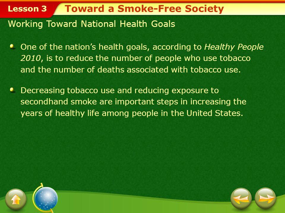 Toward a Smoke-Free Society