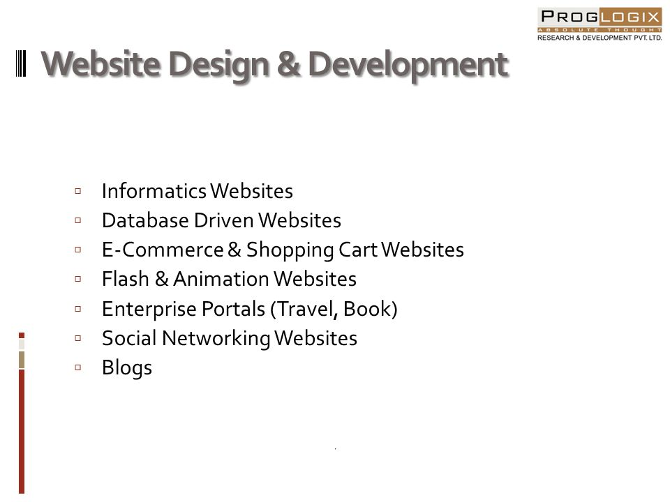 Website Design & Development