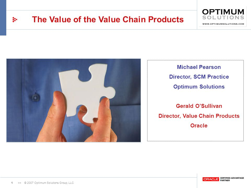 Director, Value Chain Products