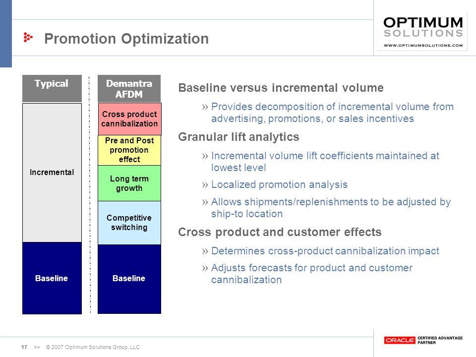 Promotion Optimization