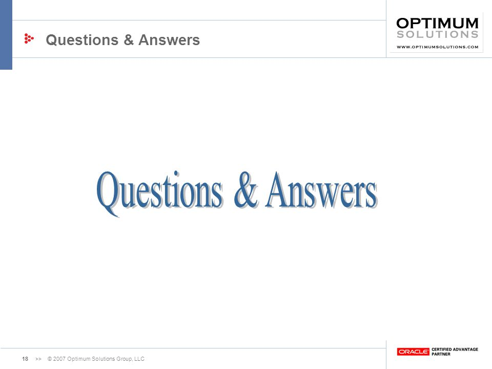 Questions & Answers Questions & Answers