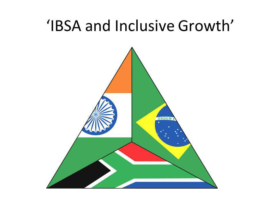 'IBSA and Inclusive Growth'