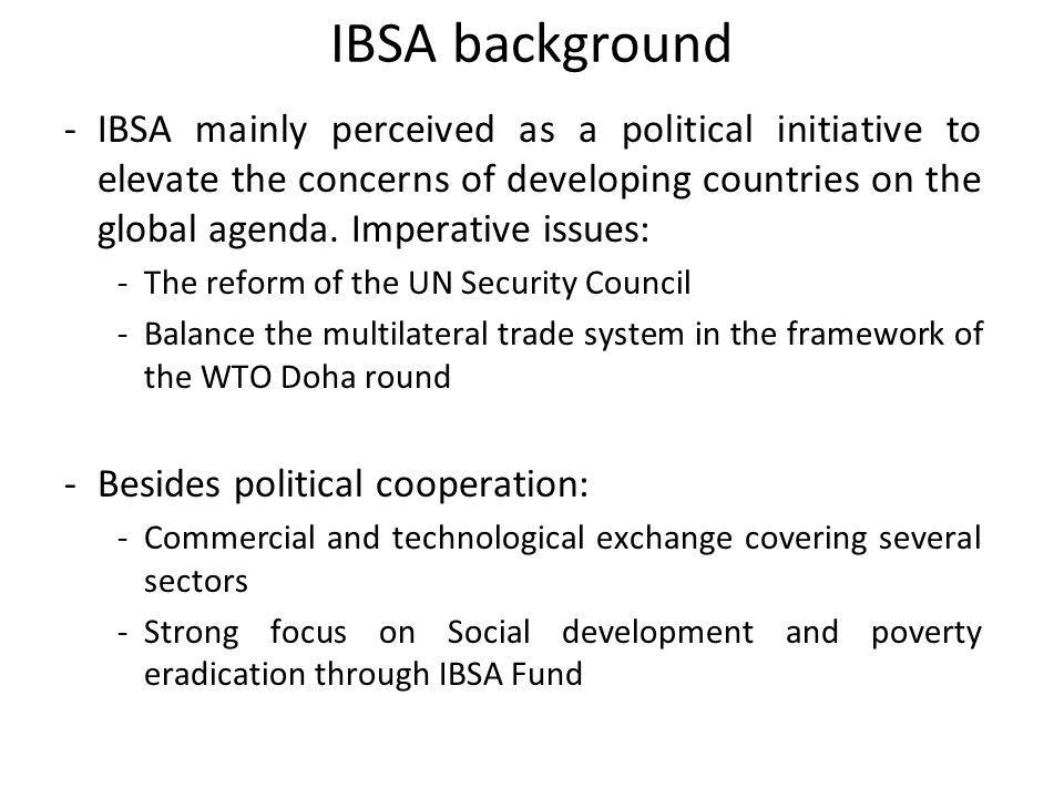 IBSA background