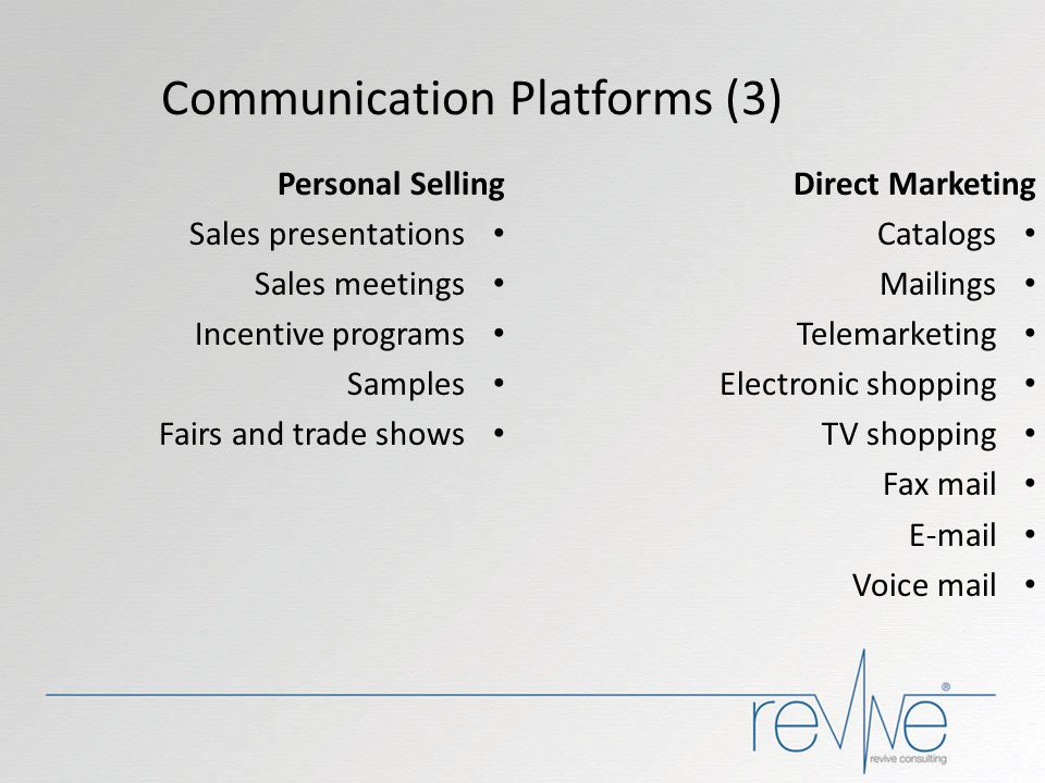 Communication Platforms (3)