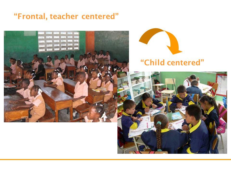 Frontal, teacher centered