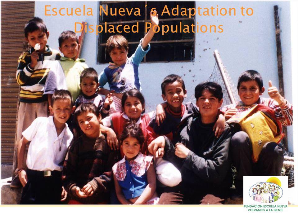 Escuela Nueva´s Adaptation to Displaced Populations