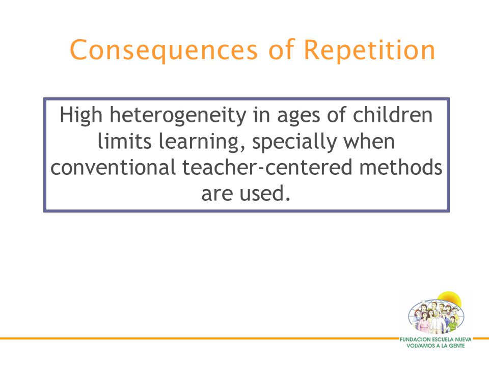 Consequences of Repetition