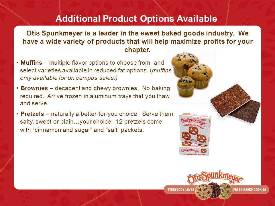 Additional Product Options Available